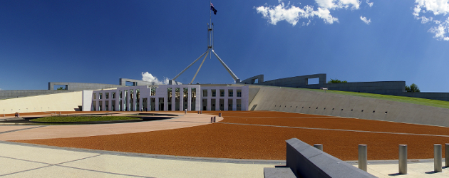 Image taken from http://en.wikipedia.org/wiki/File:Parliament_House,_Canberra.jpg
