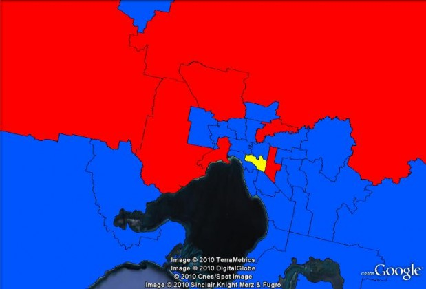Maps Of Federal Mps By Gender The Tally Room