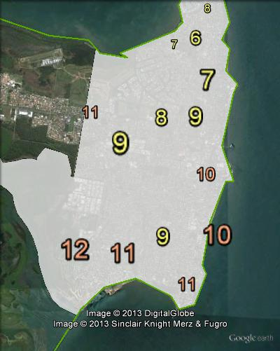 KAP primary votes in Redcliffe at the 2012 Queensland state election.