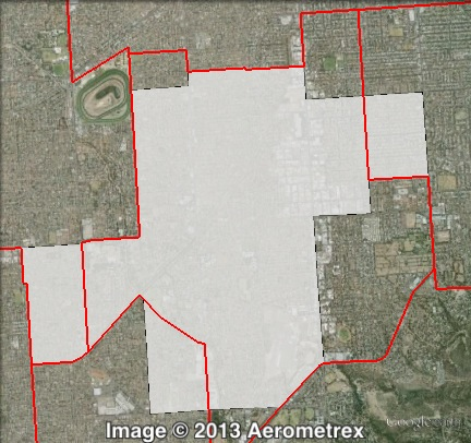 Map of Elder's 2010 and 2014 boundaries. 2010 boundaries marked as red lines. 2014 boundaries marked as white area. Click to enlarge.