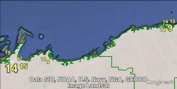 Nationals Senate votes in Roebourne and Port Hedland at the 2013 federal election.
