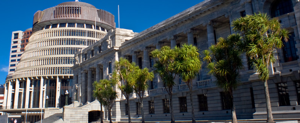 Photo courtesy of http://en.wikipedia.org/wiki/New_Zealand_Parliament#mediaviewer/File:Parlamento_da_Nova_Zel%C3%A2ndia.jpg