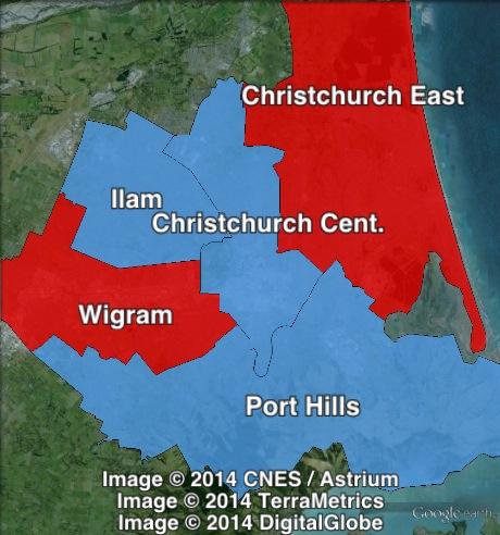 Christchurch-region-map