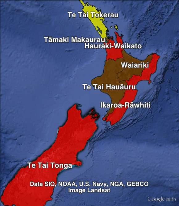 Maori-region-map