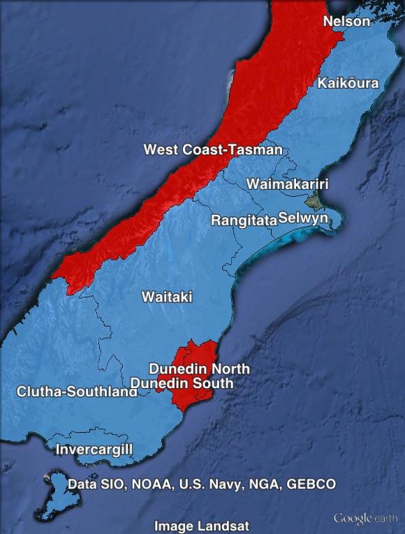 Southisland-region-map