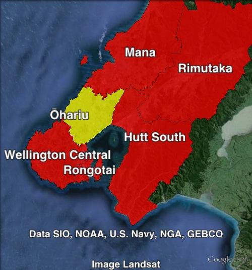 Wellington-region-map